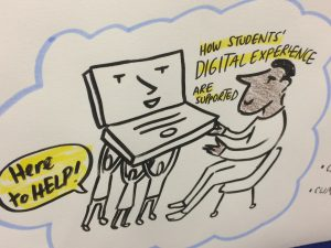 Supporting the student digital experience