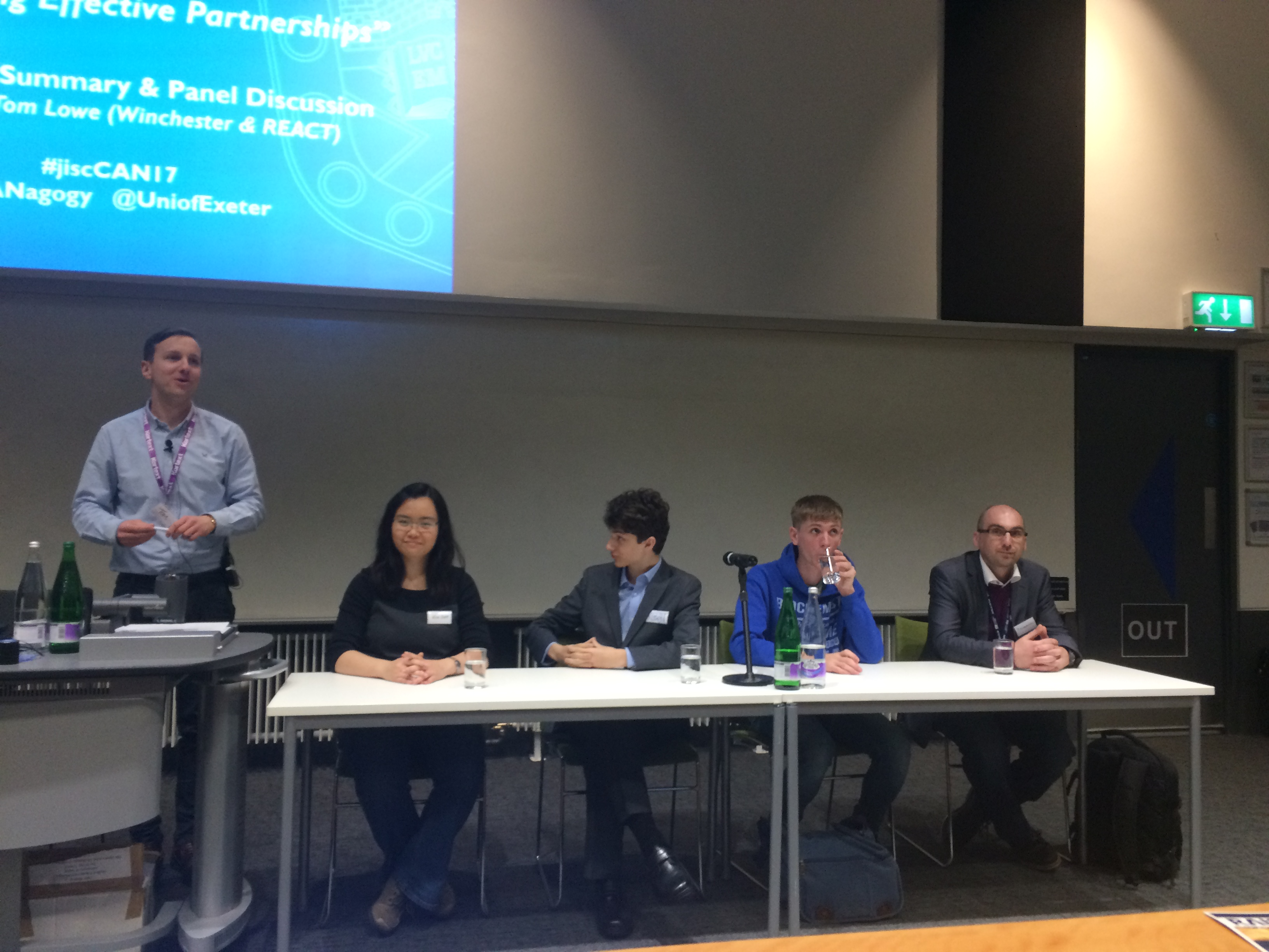 CAN2017 Student panel