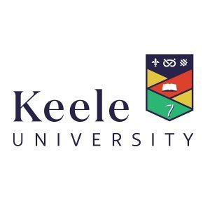Logo of Keele University